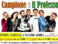 """L'omaggio a Totti nella commedia """"Il campione e il professore"""""""